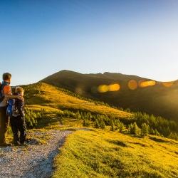 Sonnenaufgang auf der Brunnachhöhe